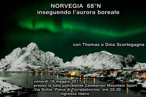 Norvegia 68° N - inseguendo l'aurora boreale