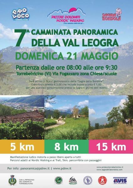 7° Camminata Panoramica della Val Leogra